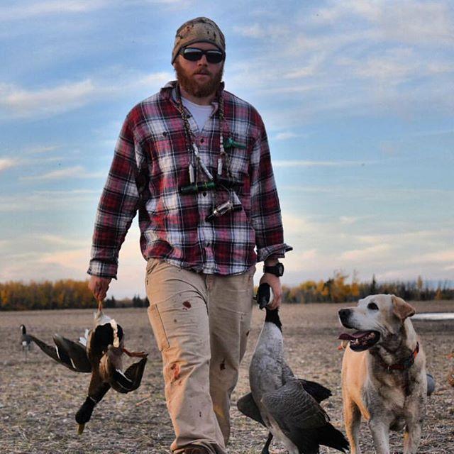 _fieldquarterwaterfowl makin' the retrieve up in Alberta #lawcalllanyards #fieldquarterwaterfowl