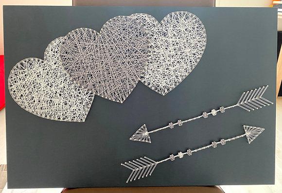 Cœurs et flèches