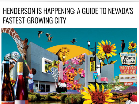 Henderson Happenings: A Guide To Nevada's Fastest-Growing City