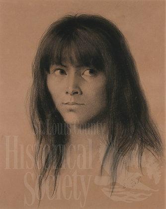 Ojibwe Youth (REPRODUCTION)