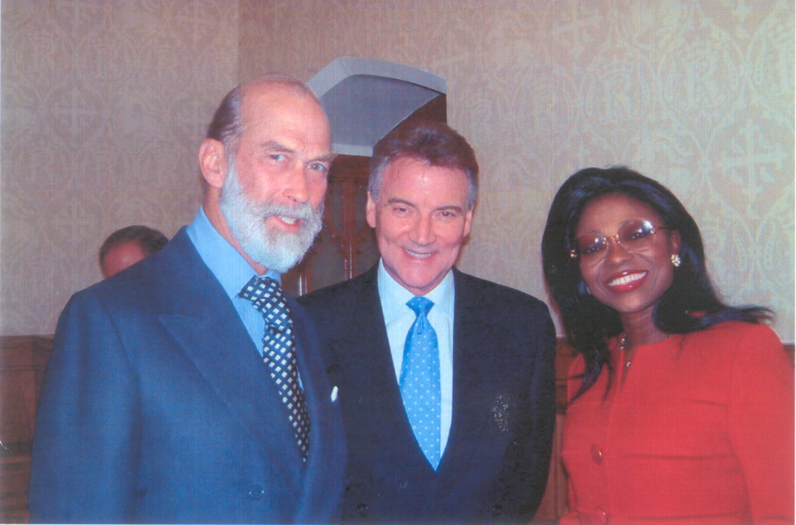 With HRH Prince Michael of Kent