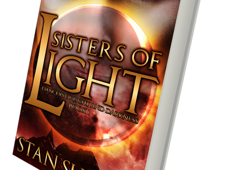 Color Nook Review of Sisters of Light, Book One of Dancers of Light and Darkness by Stan Sudan