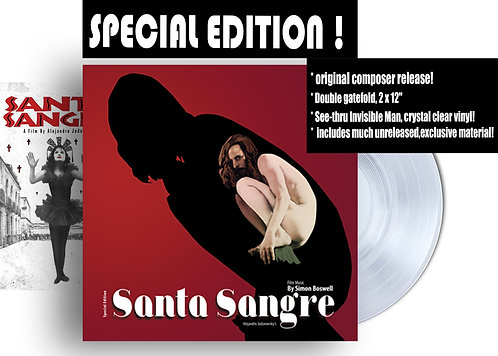 SANTA SANGRE, SIGNED! Special Edition