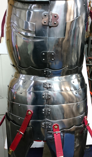 English Back and Breast Plates