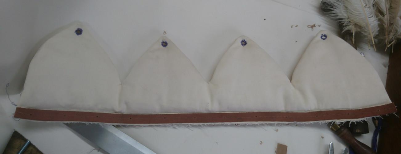 Burgundian Kettle Hat
