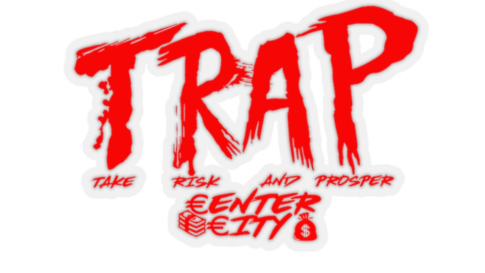Center City Trap Stickers Stickers