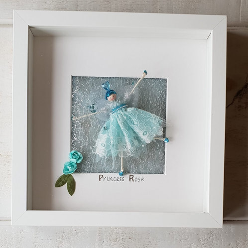 Blue heart Fairy