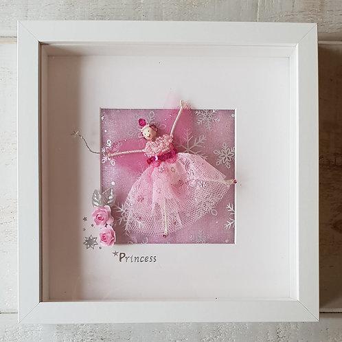 Pink Snowflake Fairy
