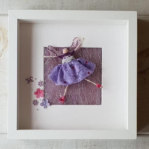 Purple Glitter Fairy