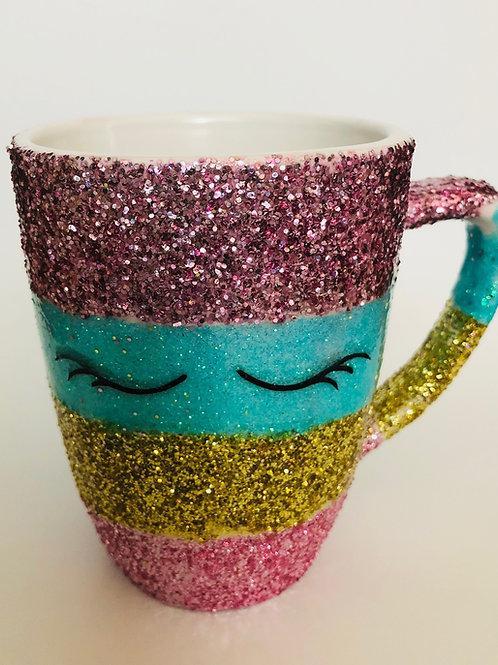 Unicorn Glitter Cup