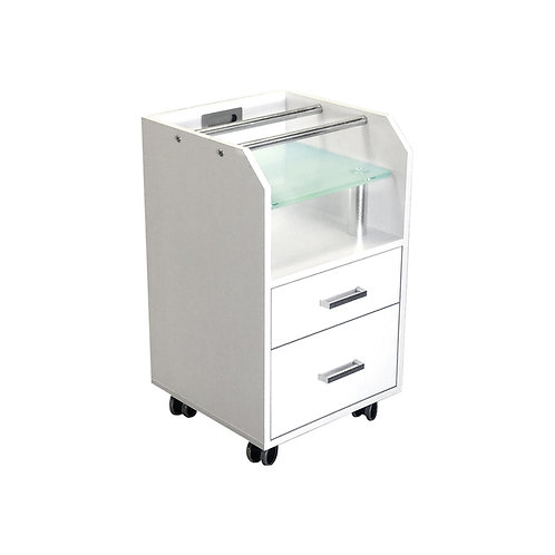 GLASGLOW PEDICURE TROLLEY-AY
