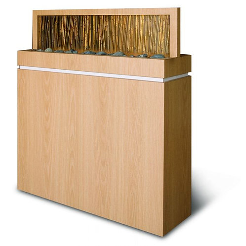 SALON DIVIDER WITH ACRYLIC BAMBOO-AF