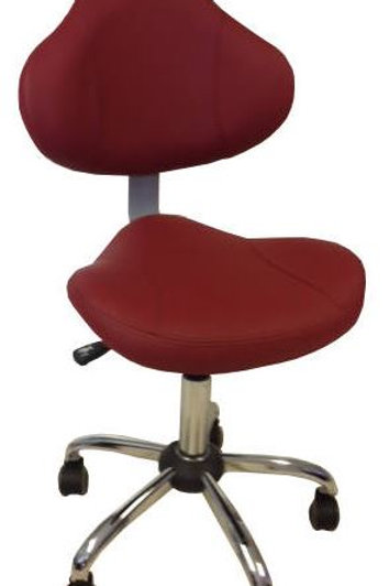 Tech Chair TC001 - Bright Burgundy-PS