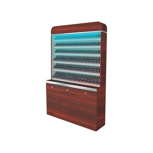 """I Polish Rack With Gel Color Cabinet - 48"""" (90)"""