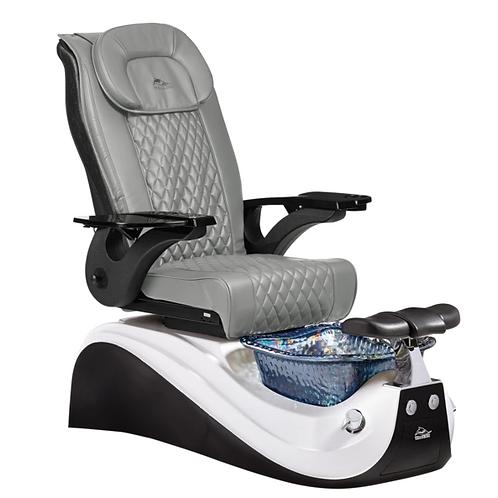 Victoria II Black Pedicure Chair