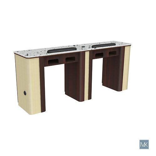 VERONA NAIL TABLE - DOUBLE-AY