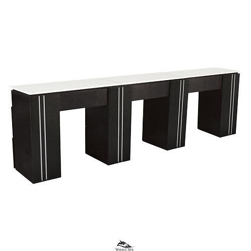 Triple Manicure Table NM906T-W
