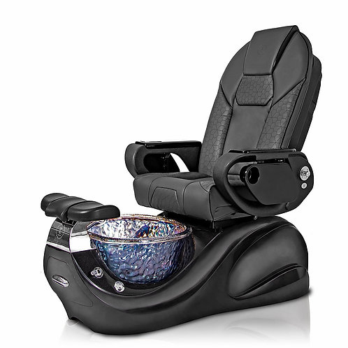 T-918 Black with Throne Massage Chair