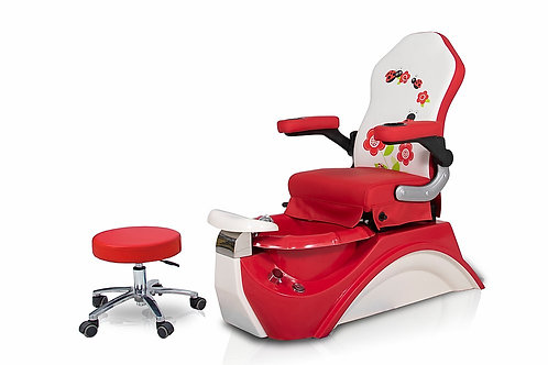 T Pedicure kid -Red