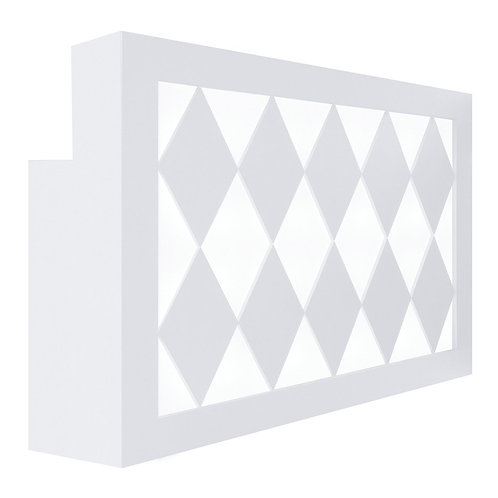Diamond LED Reception Desk