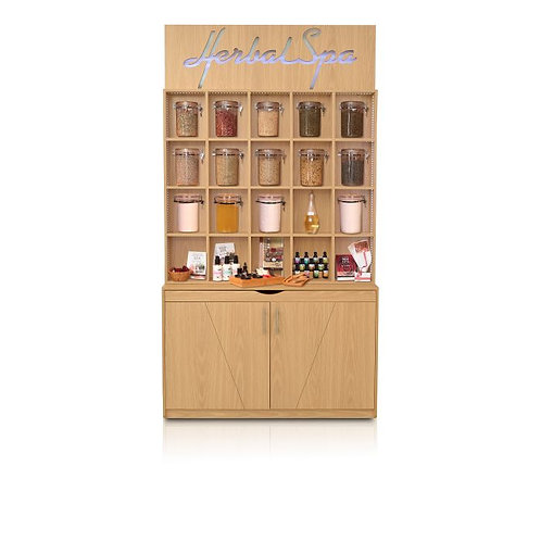 HERBAL DISPLAY CABINET-AF