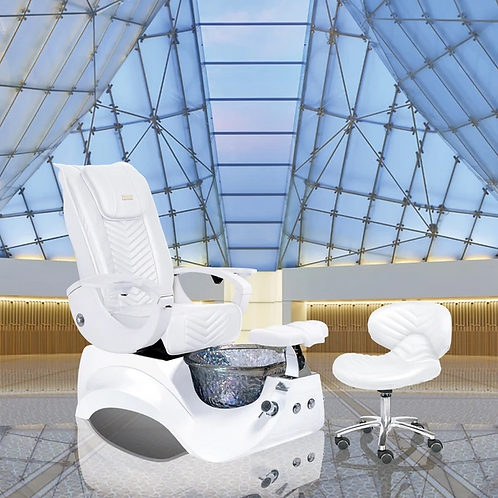 Valentino Lux Pedicure Chair-W