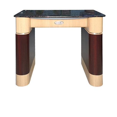 Nail Table T-100 (Ash / Rosewood / Aluminum)-PS