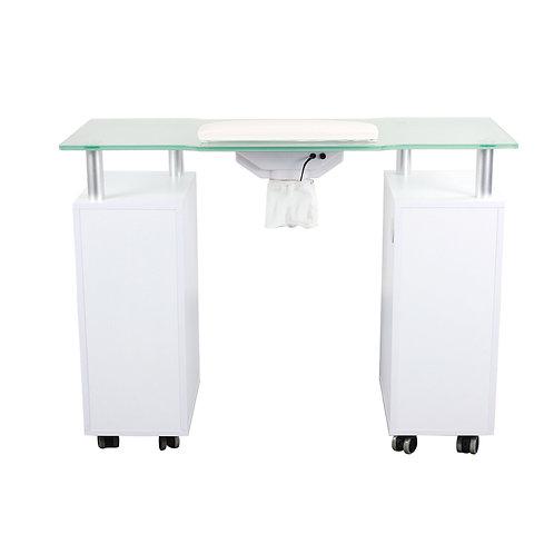 GLASGLOW NAIL TABLE W/ FAN-AY