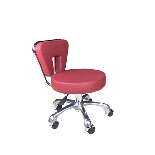 Tech Stool TS002 - Bright Burgundy-PS