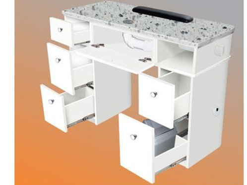 SONOMA MANICURE TABLE WITH EXHAUST - AY