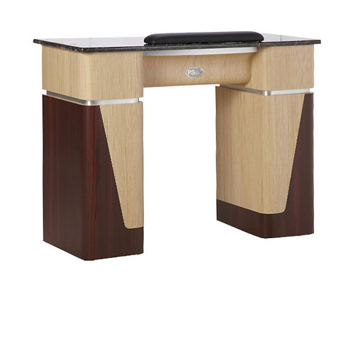 Nail Table T-06 (Ash / Rosewood / Aluminum)-PS