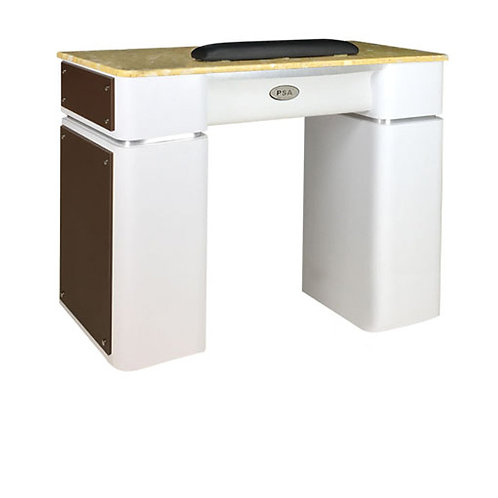 Nail Table T-39 Single (White / Chocolate)-PS