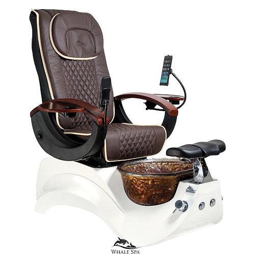 Alden Crystal Pedicure Chair-W