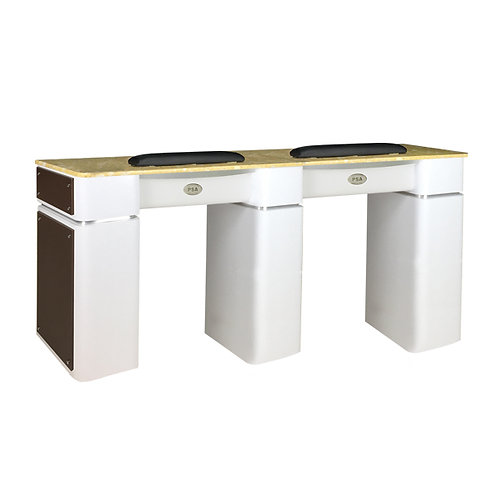 Nail Table T-39 Double (White / Chocolate)-PS