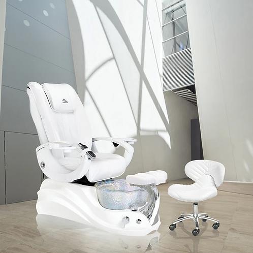 Crane White Edition Pedicure Chair-W