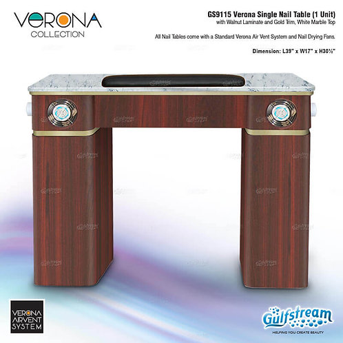 GS9115 VERONA SINGLE NAIL TABLE (1 UNIT)
