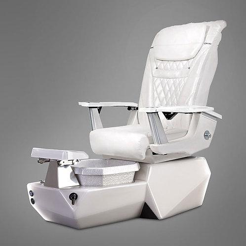 Tri WHITE-EPOX Pedicure Chair