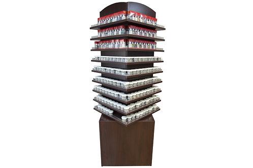 Polish Rack Stand and Movable