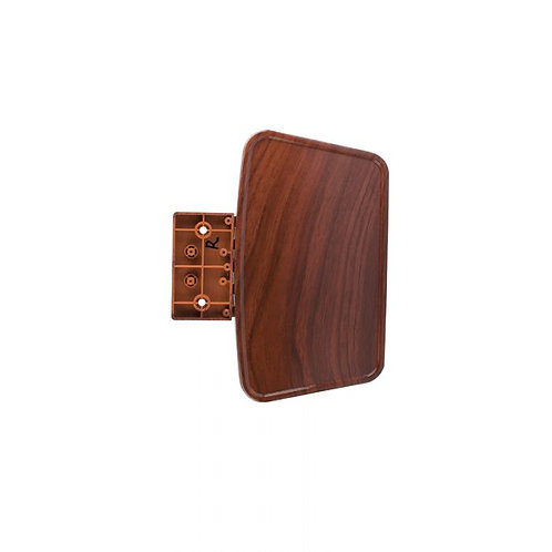 HT-135 MANICURE TRAY RIGHT W/ HINGE FAUX WOOD-AF