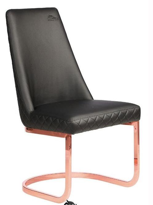 Customer Chair Diamond 8109RG Rose Gold-W