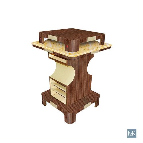 Verona II Nail Dryer Table - Square AY