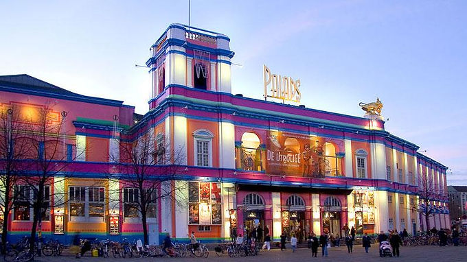 The most colourful building in Copenhagen.