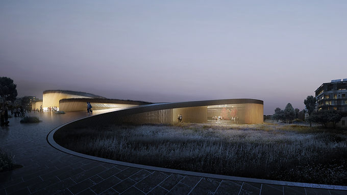 Human body museum in France BY BIG