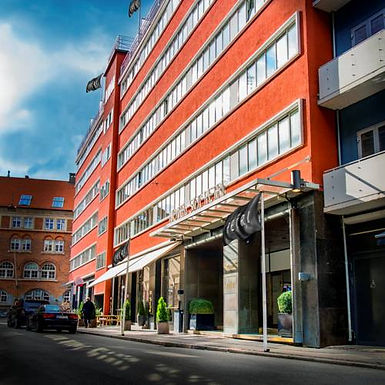The SKT. PETRI Hotel in Copenhagen..