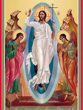 Cristo ressuscitou, verdadeiramente Ele ressuscitou. Aleluia!