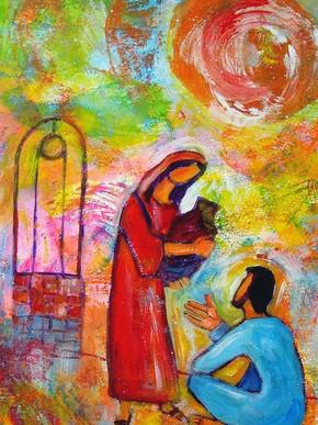 Jesus tem sede da nossa confiança e do nosso amor