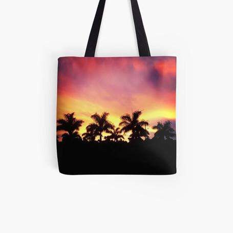 Sarasota Sunset Tote Bag $17.18
