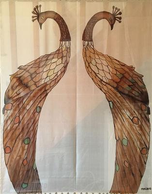 The Sepia Peacocks