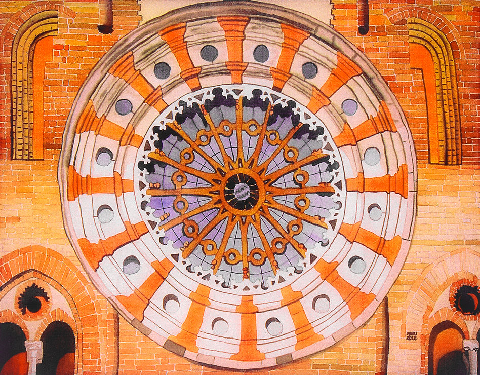 Lodi Cathedral Rosette