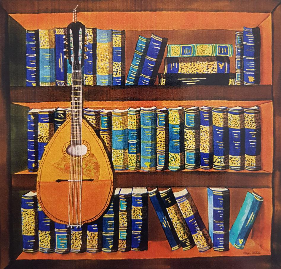 The Mandolin and Blue Books